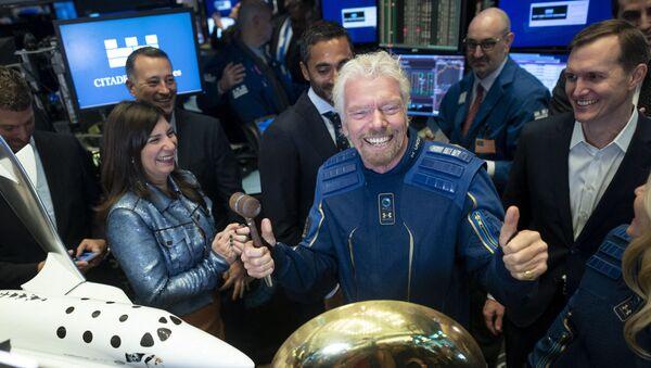 Richard Branson - Sputnik France