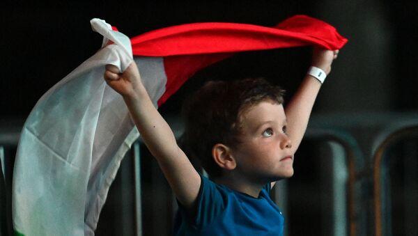 Supporteur italien à l'Euro 2020 - Sputnik France