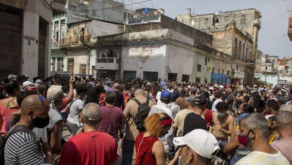 Manifestation à Cuba - Sputnik France