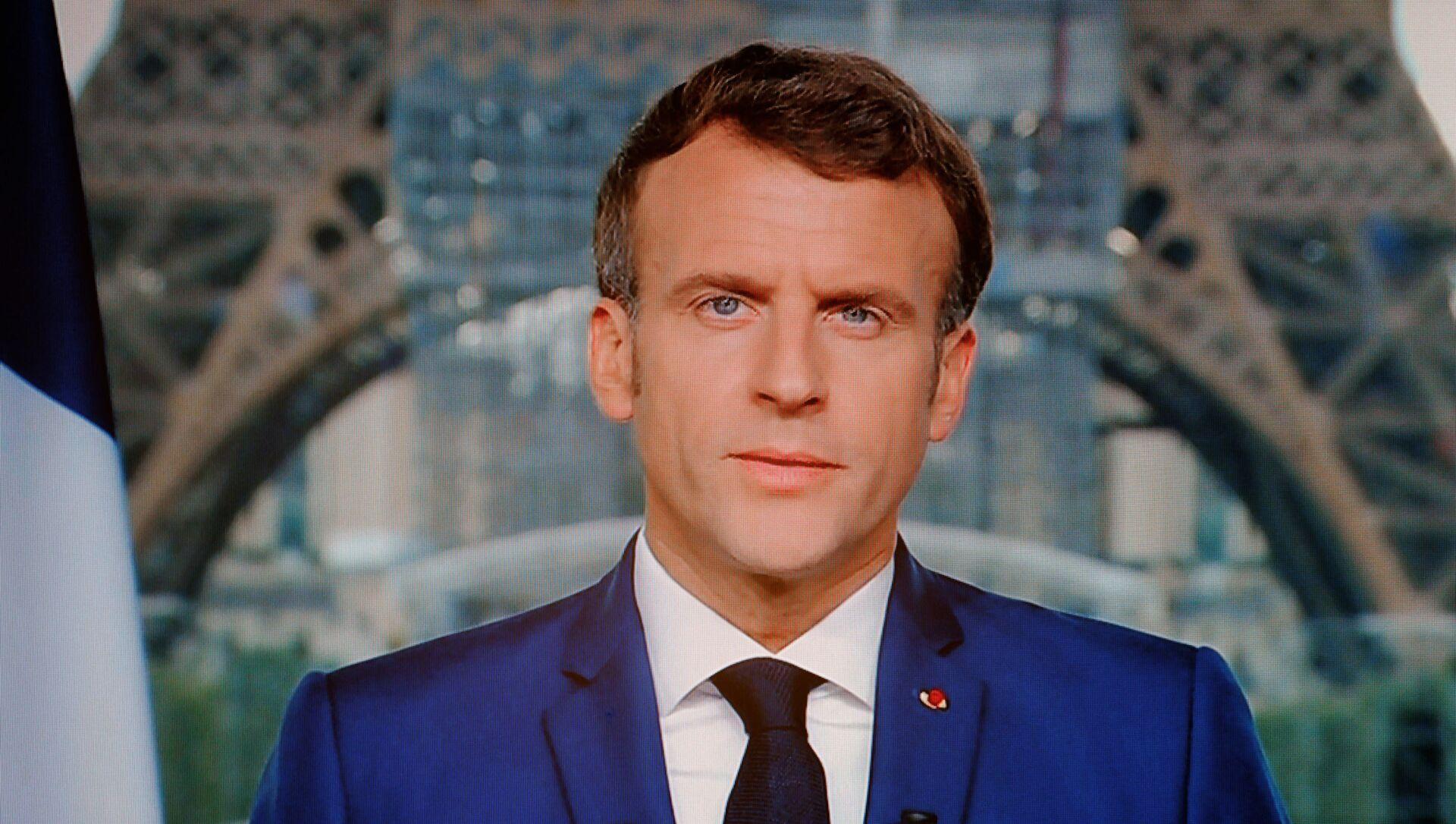 Macron s'adresse aux Français, le 12 juin 2021 - Sputnik France, 1920, 03.08.2021