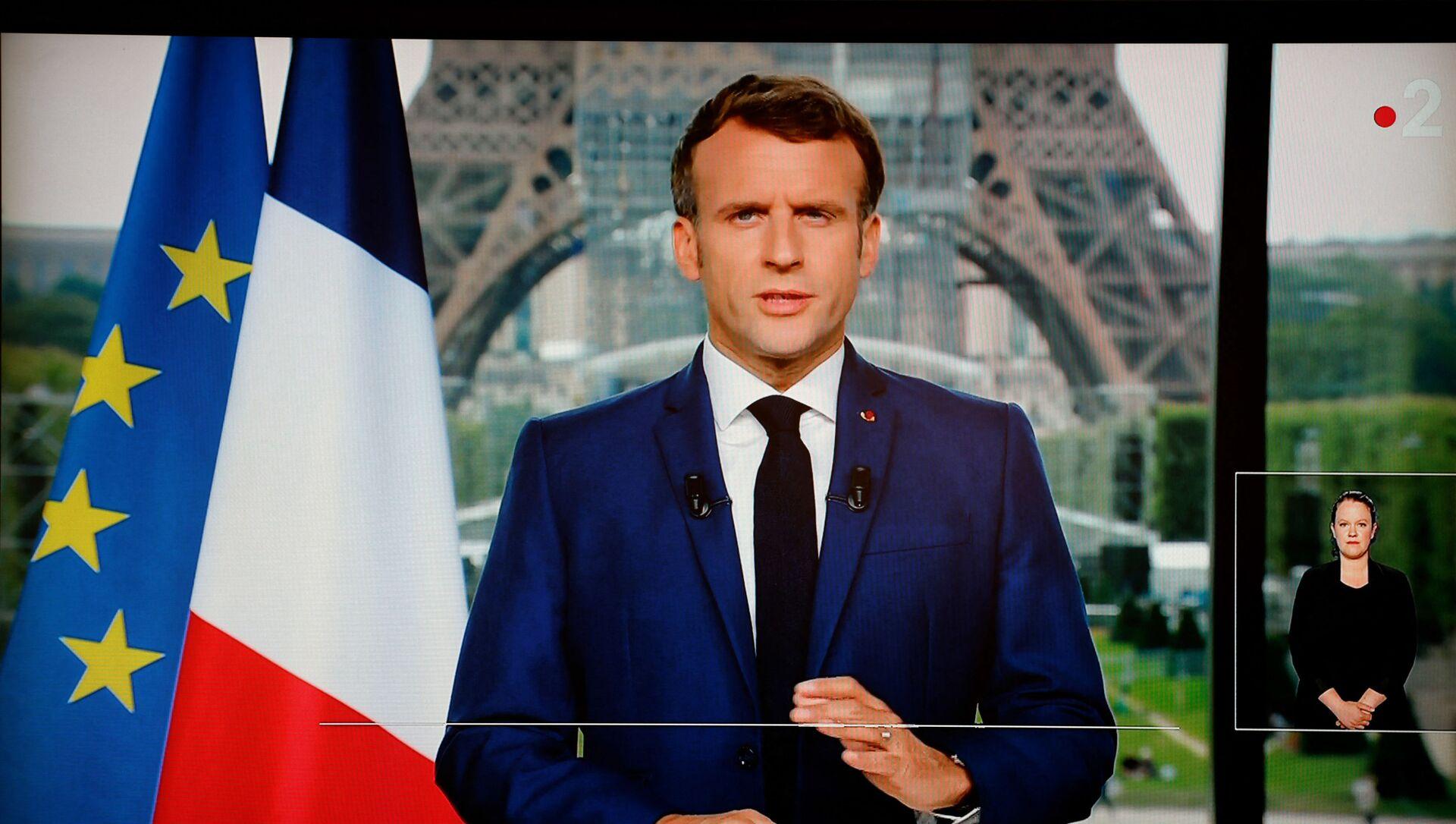 Macron s'adresse aux Français, le 12 juin 2021 - Sputnik France, 1920, 13.07.2021