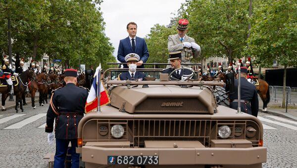 La France fête le 14 juillet  - Sputnik France
