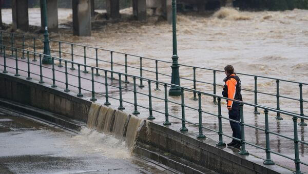 Inondations à Liège, Belgique, le 15 juillet - Sputnik France