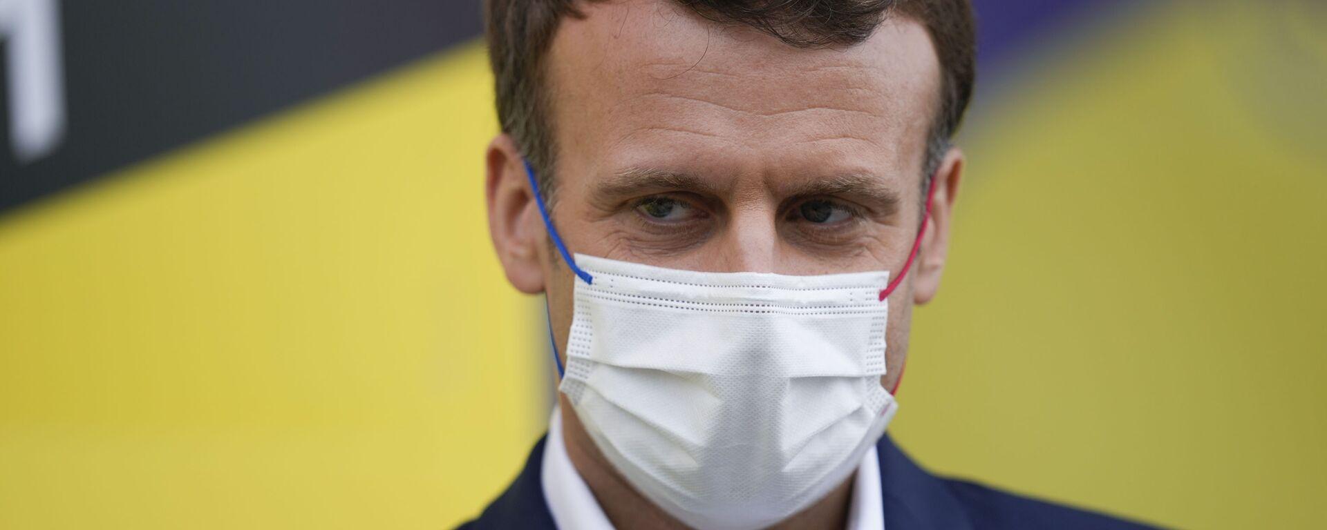 Emmanuel Macron - Sputnik France, 1920, 23.07.2021