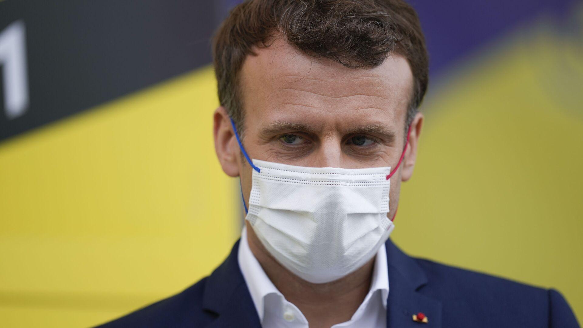 Emmanuel Macron - Sputnik France, 1920, 17.09.2021