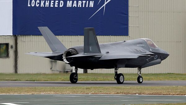 FILE PHOTO: A RAF Lockheed Martin F-35B fighter jet taxis along a runway - Sputnik France