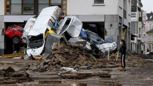 Inondations en Allemagne - Sputnik France