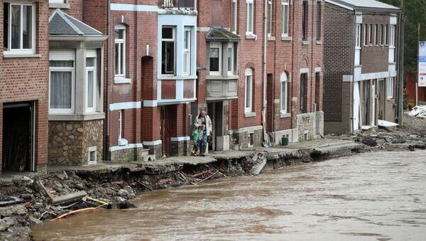 De fortes inondations en Belgique - Sputnik France