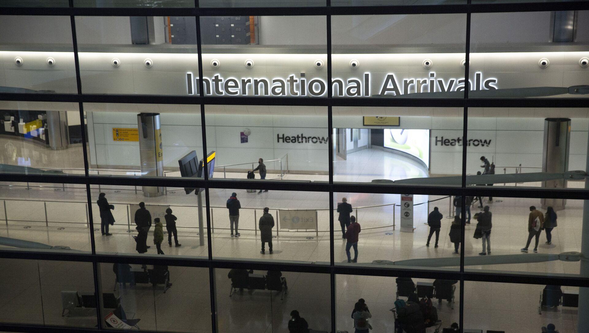 Aéroport d'Heathrow à Londres - Sputnik France, 1920, 26.07.2021