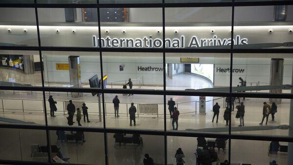 Aéroport d'Heathrow à Londres - Sputnik France