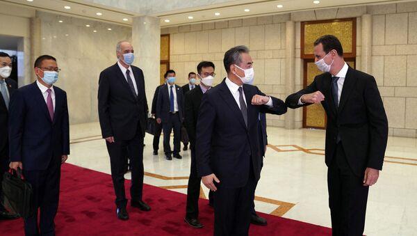 Ministre des Affaires étrangères chinois à Damas - Sputnik France