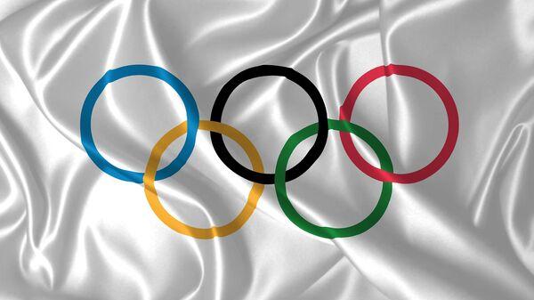 Le drapeau des Jeux olympiques - Sputnik France