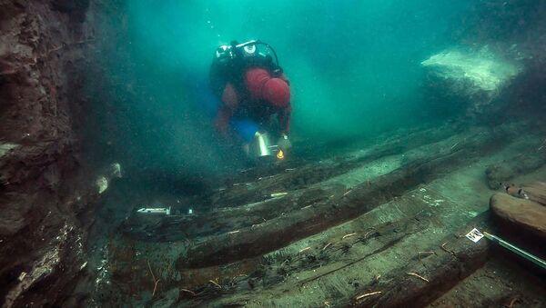 fouilles sous-marines à Héracléion  - Sputnik France