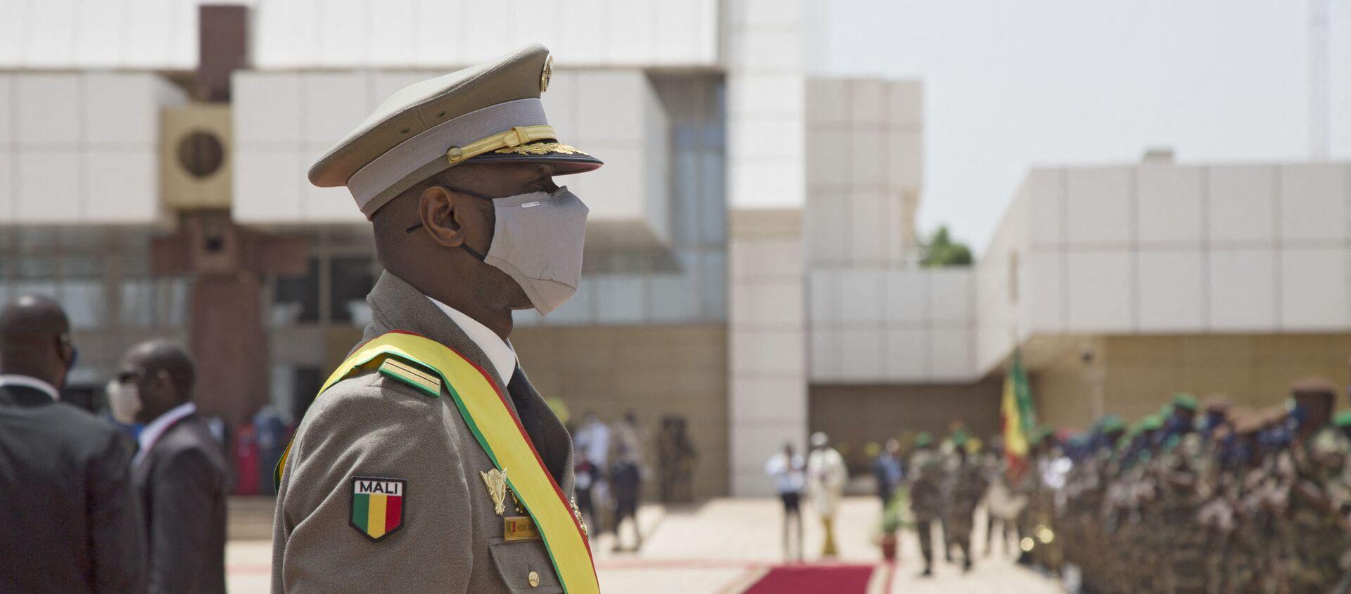 Le Président malien de transition, le colonel Assimi Goïta - Sputnik France, 1920, 23.07.2021