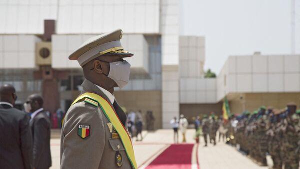 Le Président malien de transition, le colonel Assimi Goïta - Sputnik France
