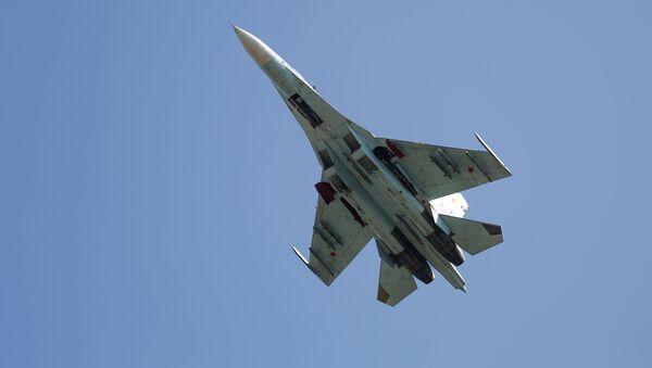 Un chasseur polyvalent Su-27  - Sputnik France