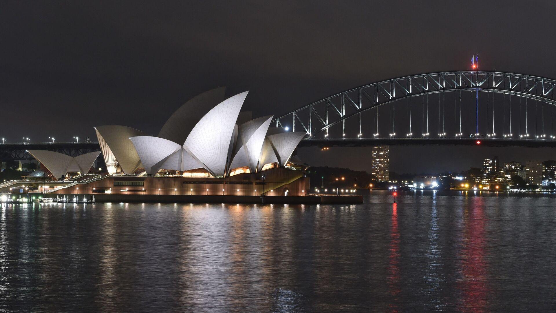 Le port de Sydney, l'Opera House et le Harbour Bridge - Sputnik France, 1920, 12.08.2021