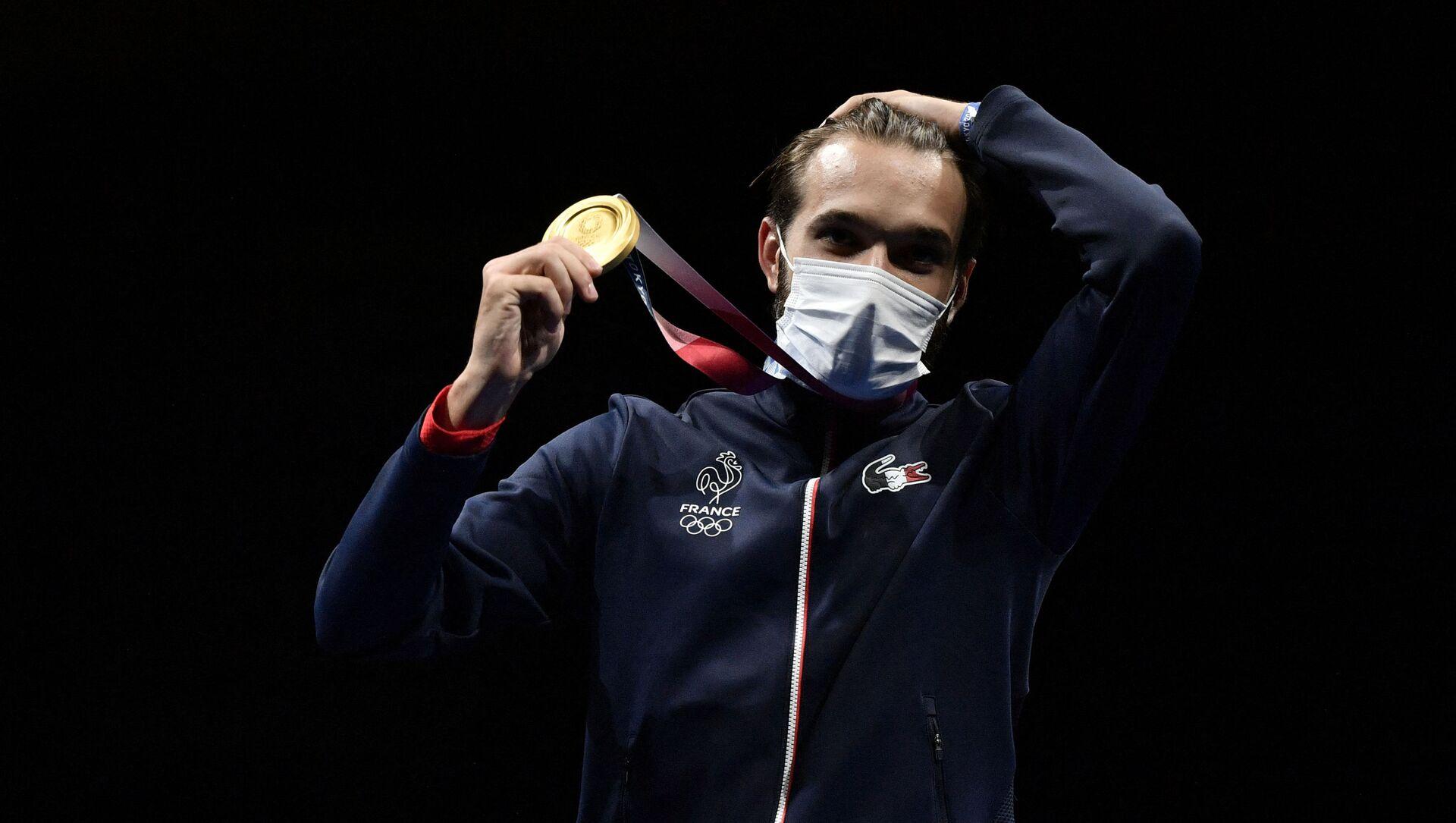 Romain Cannone, premier champion olympique français aux JO 2020 - Sputnik France, 1920, 25.07.2021