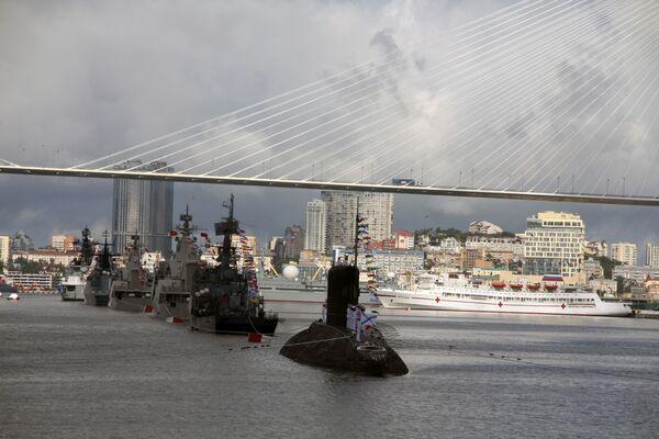 Célébration de la Journée de la Marine dans les villes russes  - Sputnik France
