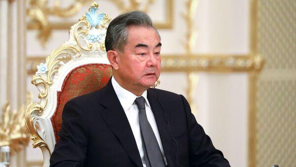 Le ministre chinois des Affaires étrangères, Wang Yi - Sputnik France