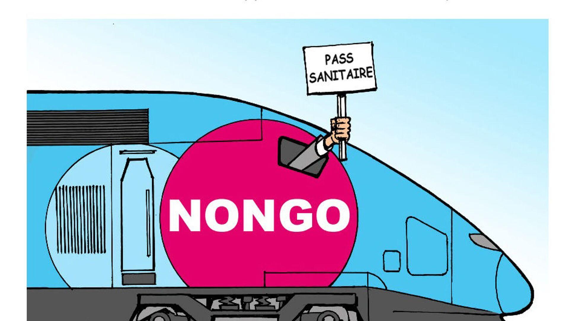 Pass sanitaire: SUD-Rail appelle les cheminots à ne pas contrôler   - Sputnik France, 1920, 27.07.2021