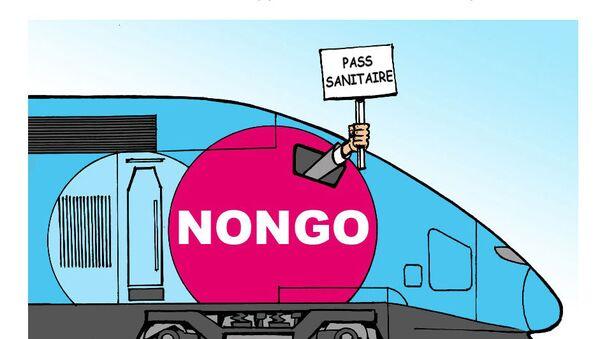 Pass sanitaire: SUD-Rail appelle les cheminots à ne pas contrôler   - Sputnik France