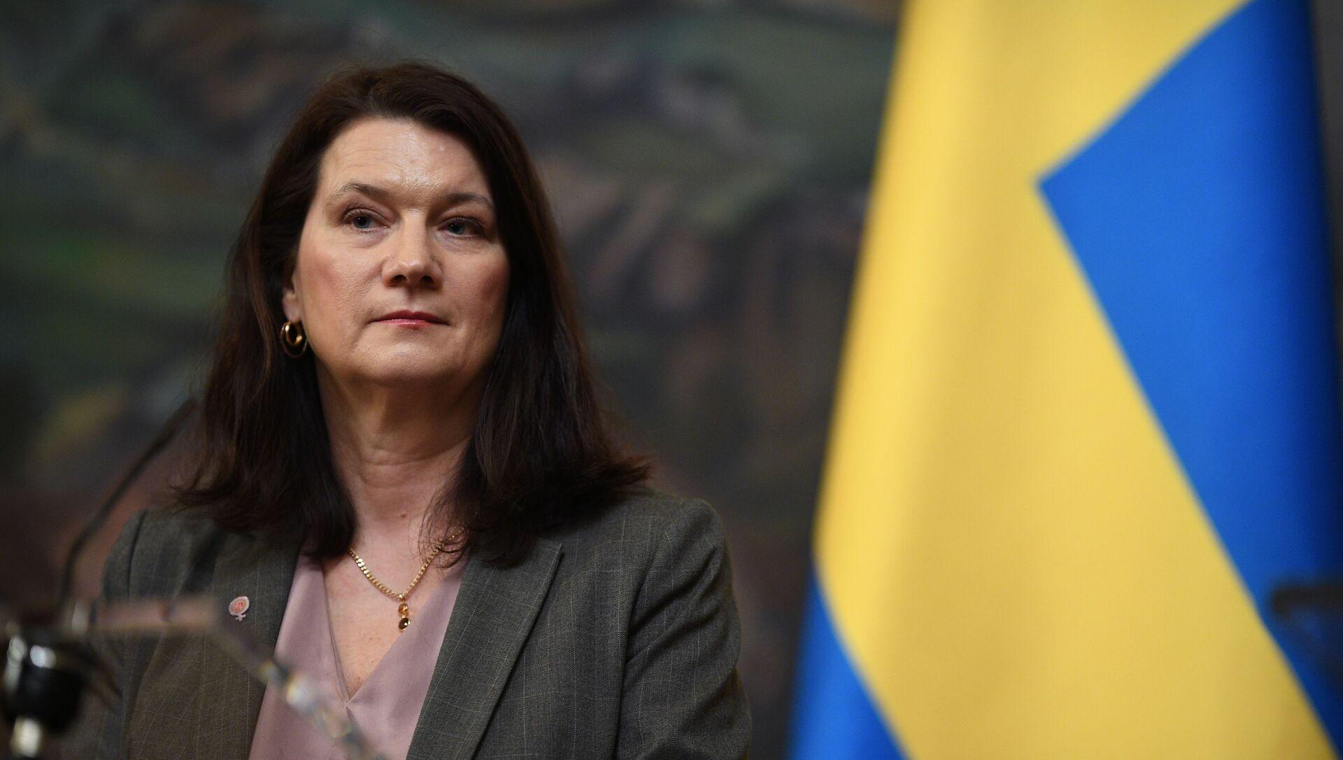 La chef de la diplomatie suédoise, Ann Linde (photo d'archives) - Sputnik France, 1920, 29.07.2021