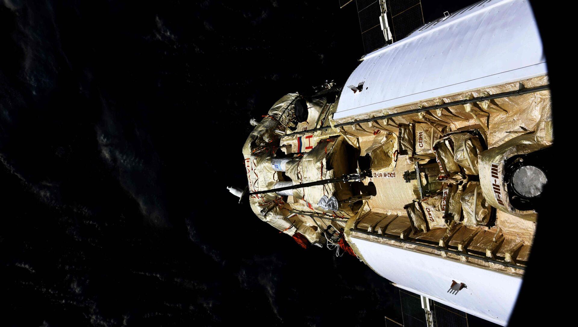 En mode automatique, le module scientifique Nauka s'est arrimé avec succès à l'ISS, le 29 juillet 2021 - Sputnik France, 1920, 30.07.2021