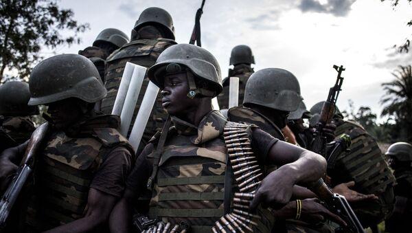 Des soldats des Forces armées de République démocratique du Congo - Sputnik France