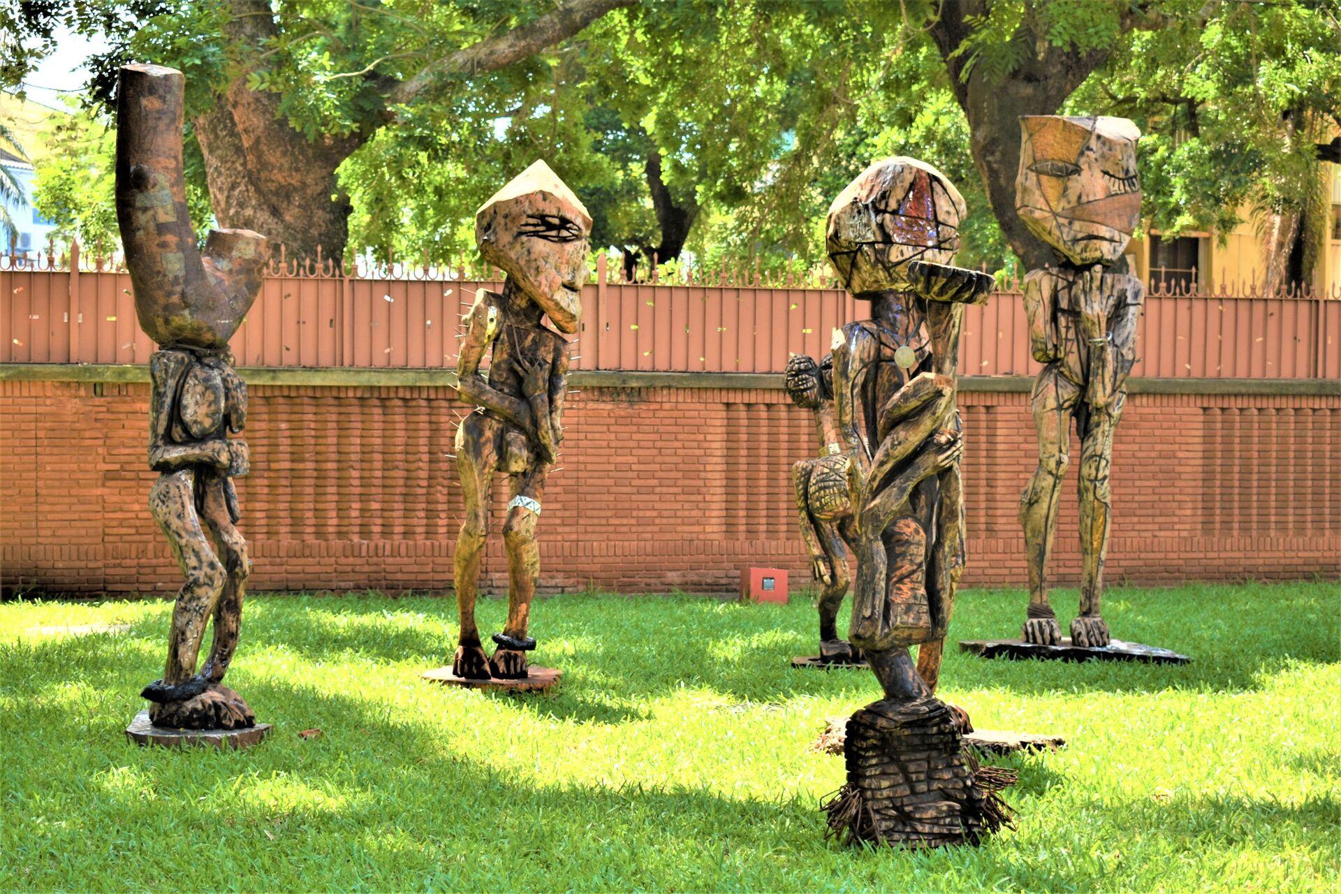Au Togo, des sculptures géantes pour dénoncer les «maux» qui minent l'Afrique - Sputnik France, 1920, 30.07.2021