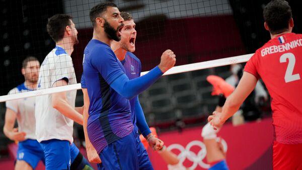 Match France-Russie au tournoi olympique de volleyball à Tokyo - Sputnik France