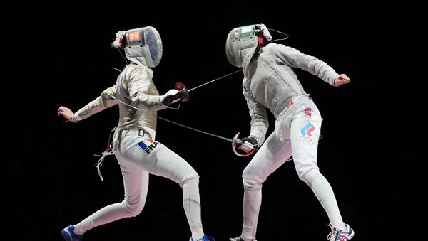 Finale Russie-France de l'épreuve de sabre par équipes aux JO 2020 - Sputnik France