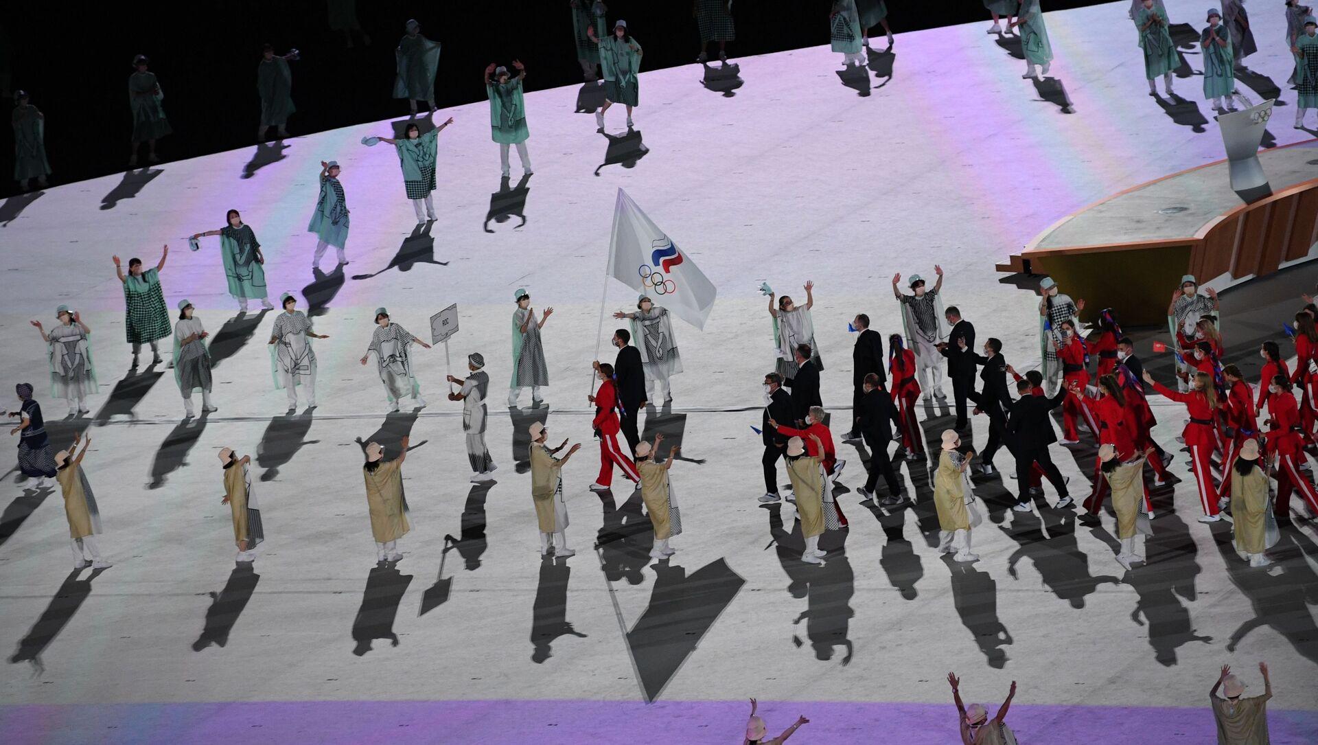 Équipe nationale de Russie, cérémonie d'ouverture des JO 2020 à Tokyo - Sputnik France, 1920, 31.07.2021