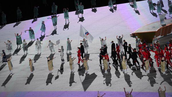 Équipe nationale de Russie, cérémonie d'ouverture des JO 2020 à Tokyo - Sputnik France
