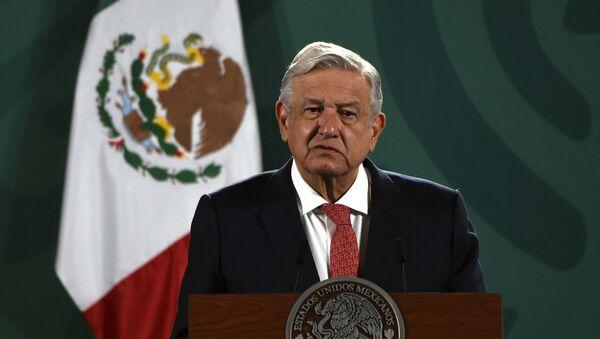 Président des États-Unis mexicains, Andrés Manuel Lopez Obrador - Sputnik France