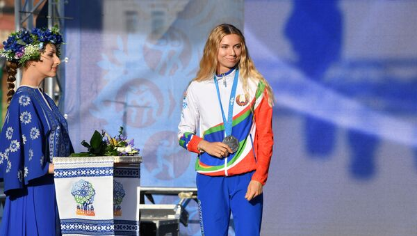 Krystsina Tsimanouskaya - Sputnik France