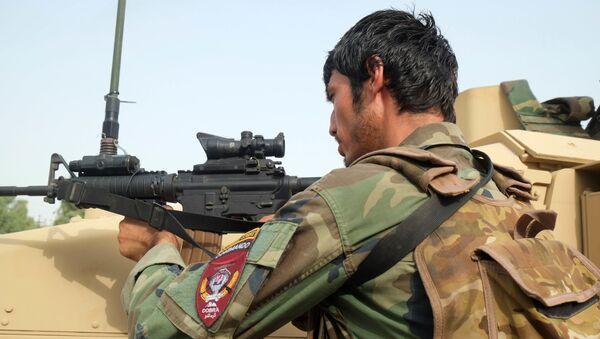 Un soldat afghan, juillet 2021 - Sputnik France