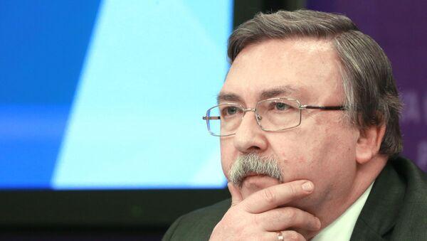 Ambassadeur russe Mikhaïl Oulianov - Sputnik France