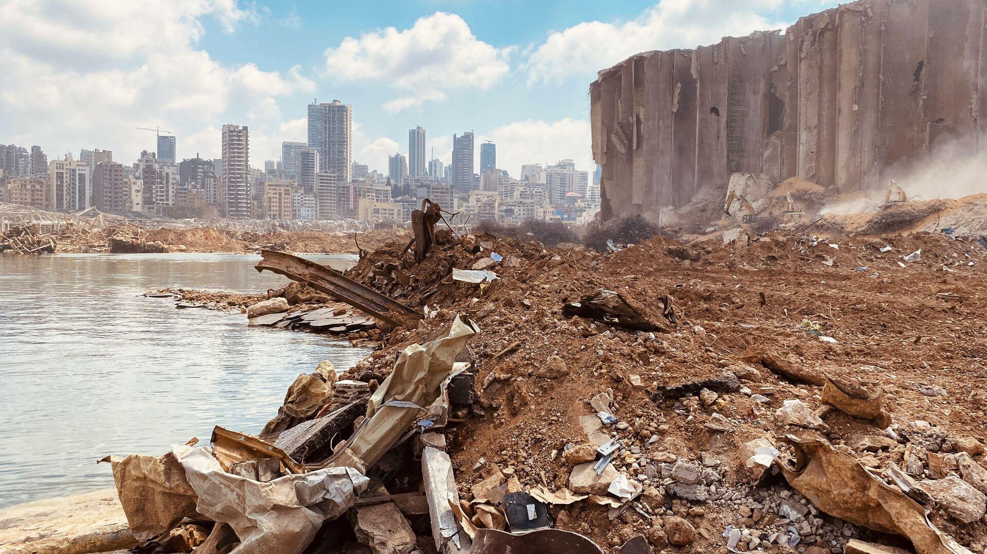 Beyrouth après l'explosion - Sputnik France, 1920, 17.09.2021