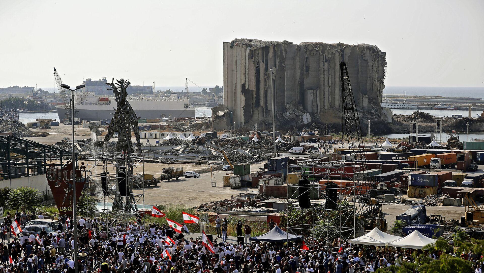 Un an après l'explosion du port de Beyrouth  - Sputnik France, 1920, 04.08.2021