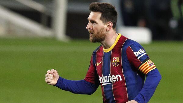 Lionel Messi sous le maillot du FC Barcelone - Sputnik France
