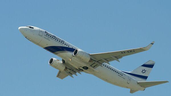 Un Boeing de la compagnie El Al. Image d'Illustration - Sputnik France