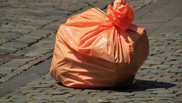 sac de déchets dans la rue - Sputnik France