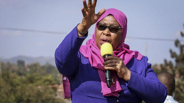 Samia Suluhu Hassan, Présidente de la République unie de Tanzanie - Sputnik France