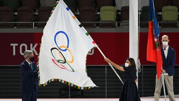 JO-2020: le drapeau olympique remis à la maire de Paris - Sputnik France