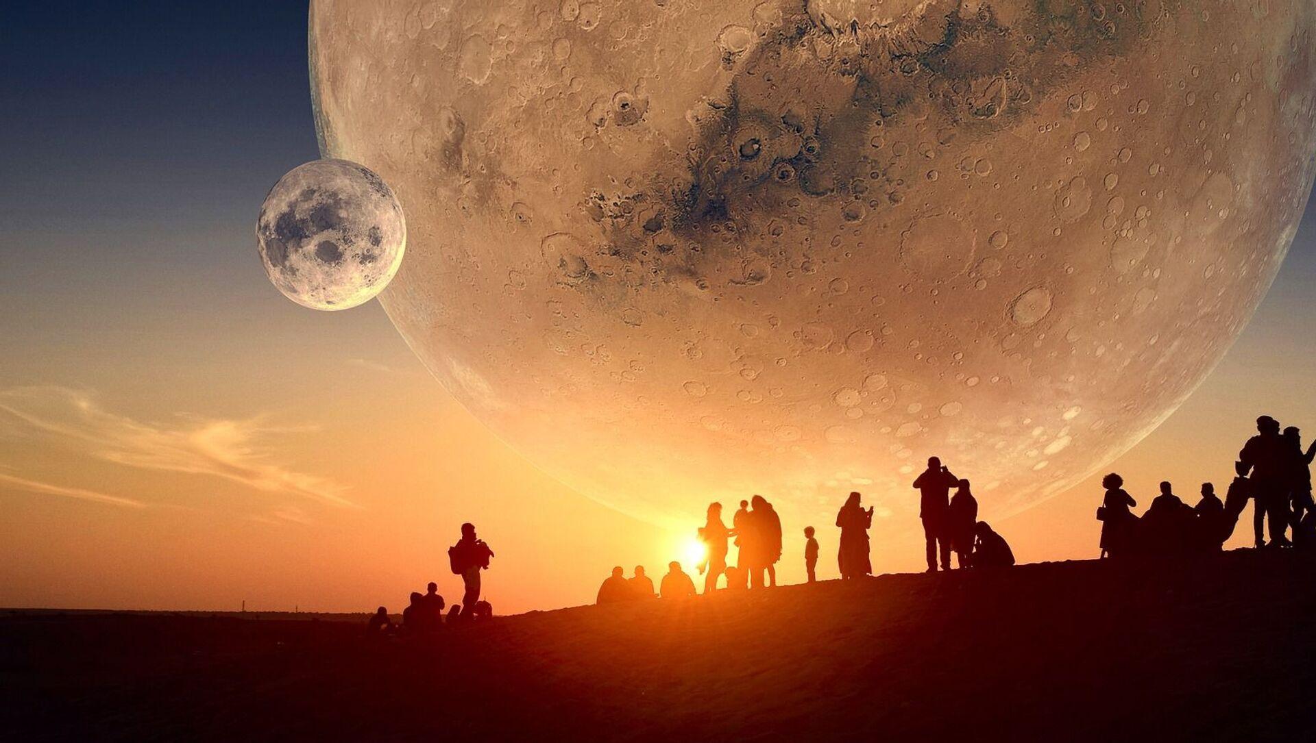 Colonisation de Mars (image d'illustration) - Sputnik France, 1920, 17.09.2021