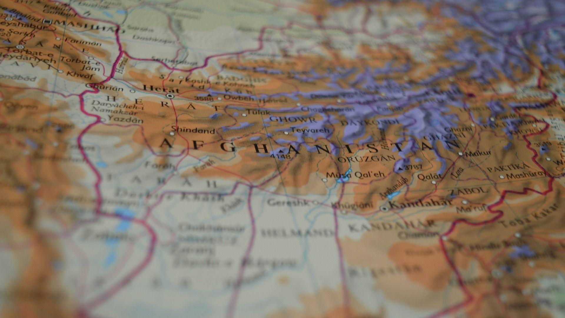 Afghanistan sur la carte - Sputnik France, 1920, 08.08.2021
