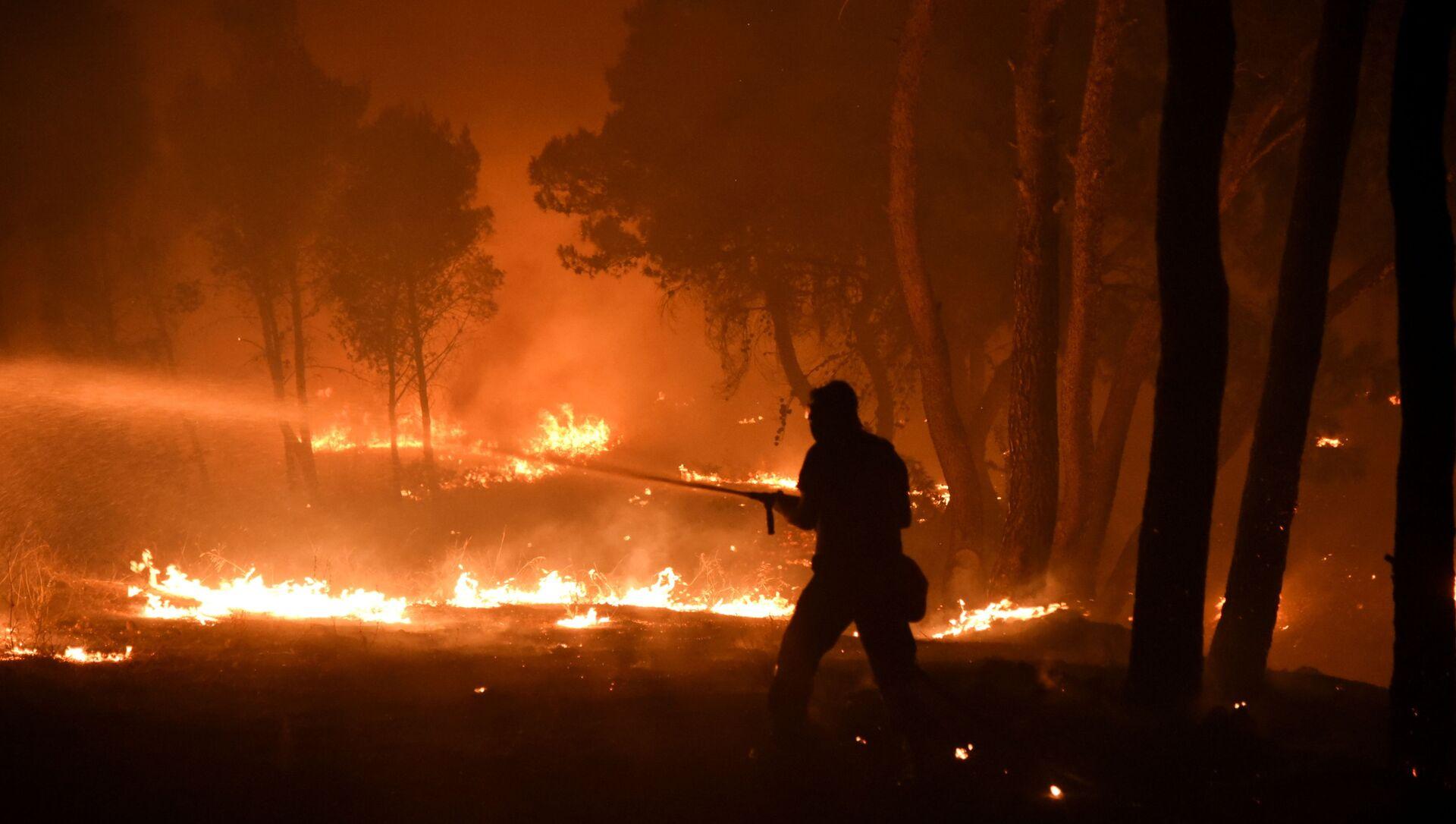 Incendies en Grèce, le 7 août 2021 - Sputnik France, 1920, 11.08.2021