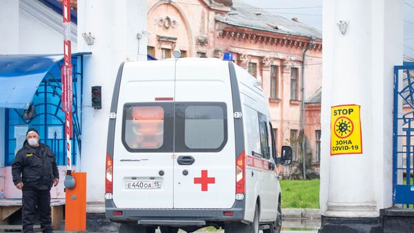 L'hôpital d'aide médicale urgente de Vladikavkaz (archive photo) - Sputnik France