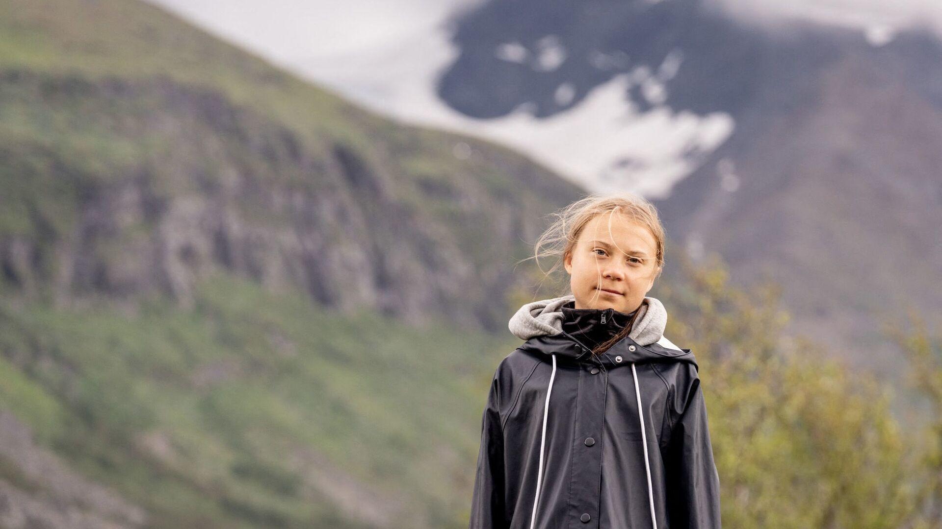 Greta Thunberg - Sputnik France, 1920, 25.09.2021